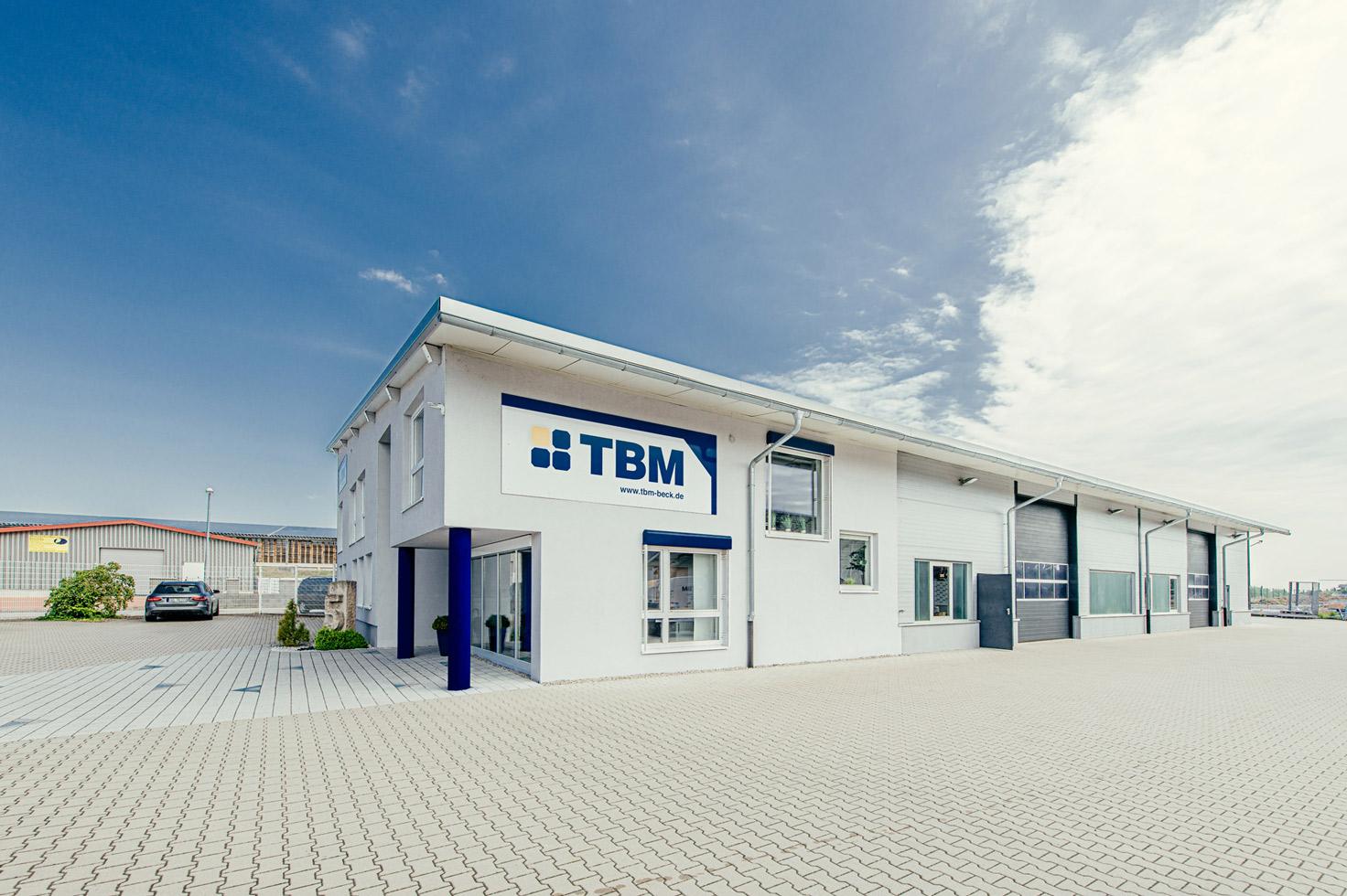 Firmengebäude TBM in Kressberg